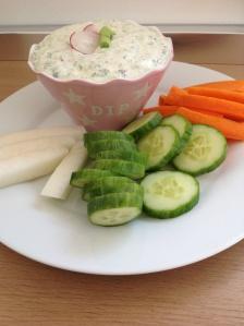 Food – Frühlingsdip (vegan), ideal zur Grillsaison oder zum Osterbrunch