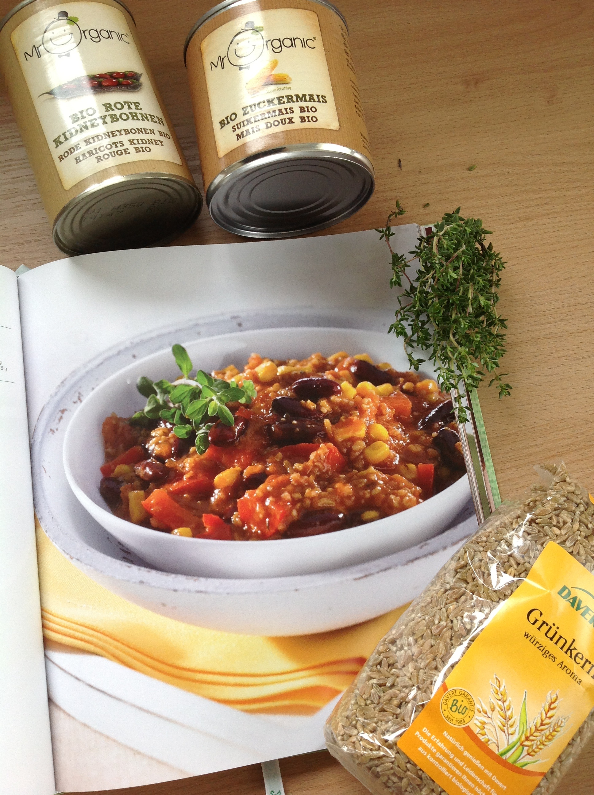 Lifestylemommy Einfach Lecker Chili Sin Carne Mit Grünkern