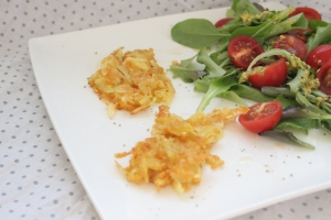 Food – Linsen-Kartoffelpuffer mit Feta (BLW 9 Monate, Kinderessen)